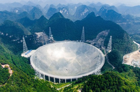 Tiongkok Buka Akses Teleskop untuk Peneliti Internasional