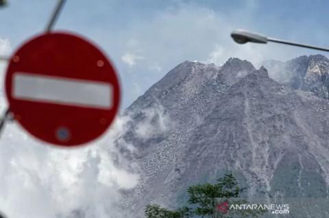 Lava Pijar Muncul Beberapa Kali di Gunung Merapi