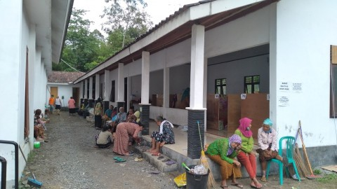 315 Warga Lereng Merapi Masih Tinggal di Pengungsian