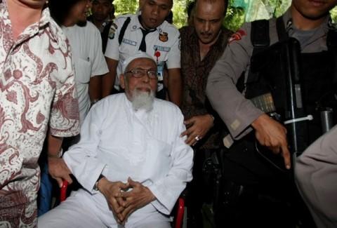 Abu Bakar Ba'asyir Langsung ke Jateng usai Dibebaskan