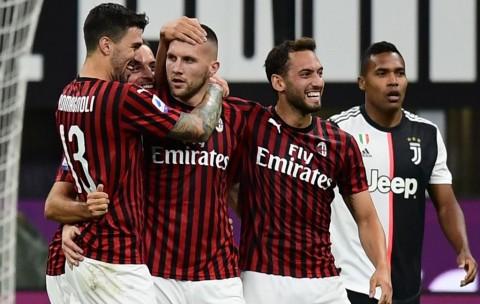 Deretan Data dan Fakta Pertandingan AC Milan vs Juventus
