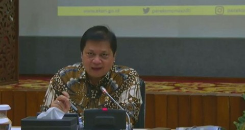 Airlangga: PSBB Berlaku di 23 Kabupaten/Kota dan DKI Jakarta