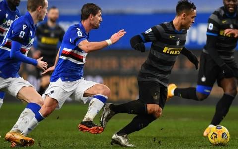 Sampdoria vs Inter: Sanchez Gagal Penalti, Nerazzurri Kalah