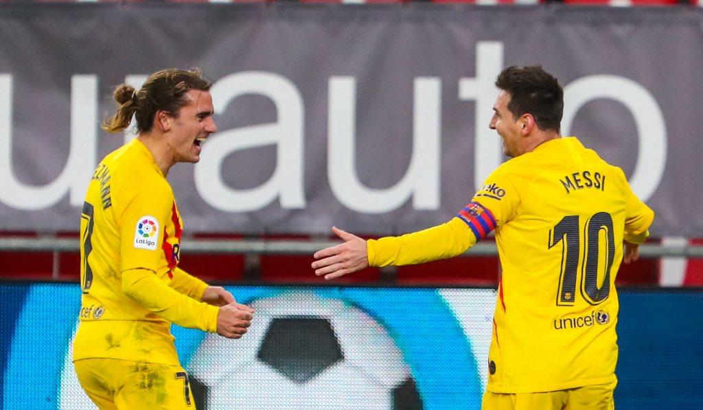 Athletic Bilbao vs Barcelona: Messi Selamatkan Blaugrana ...