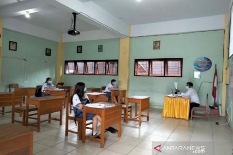 Mengintip Cara Pembelajaran Tatap Muka SMP Swasta di Kendari