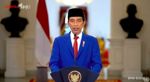 Jokowi Kembali Yakinkan Masyarakat Vaksin Covid-19 Aman