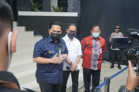 Menteri Erick Pastikan Bio Farma Siap Produksi Vaksin Covid-19