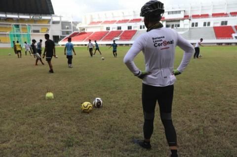 Pemain PSIS Mendapat Kehormatan Jajal Stadion Jatidiri