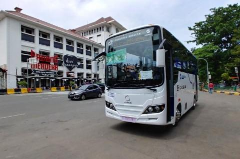 INKA Uji Coba Bus Listrik, Bersaing dengan Bus asal Tiongkok