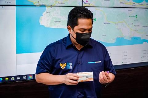 Erick Thohir Minta Bio Farma Pacu Kapasitas Produksi Vaksin Covid-19