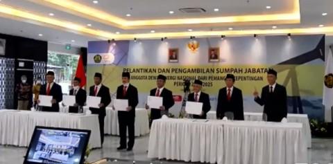 Menteri ESDM Lantik 8 Anggota DEN Periode 2020-2025