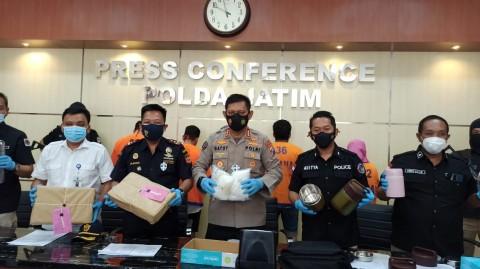 Polisi Gagalkan 6 Kg Sabu dari Malaysia Tujuan Madura