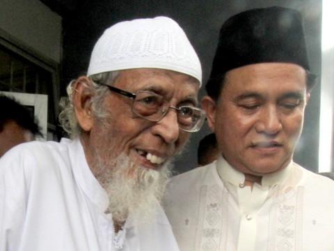 Abu Bakar Ba'asyir Menjalani <i>Rapid Test</i> Antigen Sebelum Dibebaskan