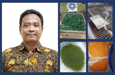 Pakar IPB Temukan Teknik Pengeringan Tanpa Merusak Warna Produk