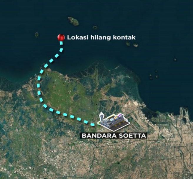 Pesawat Sriwijaya Air Jakarta-Pontianak Hilang Kontak ...