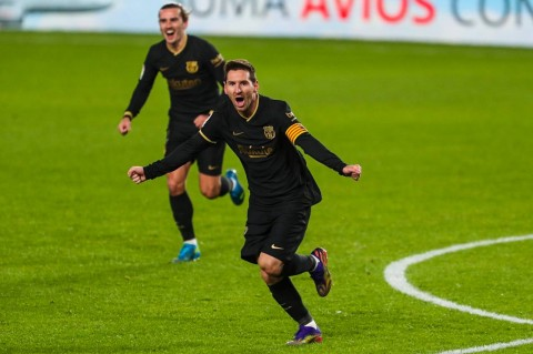 Granada vs Barcelona: Griezmann dan Messi Inspirasi Kemenangan Barca