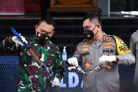 Polisi Diminta Usut Tuntas Kepemilikan Senjata Eks Laskar FPI