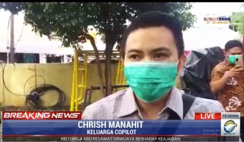 Sosok Kopilot Sriwijaya Air SJ-182 yang Tidak Mau Terbang Jika Pesawat Rusak