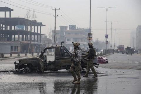 Bom Tewaskan Tiga Orang di Kabul, Satu di Antaranya Jubir