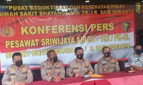 306 Ahli Forensik Identifikasi Korban Kecelakaan Sriwijaya Air SJ-182