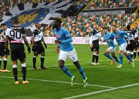 Udinese vs Napoli: Bakayoko Menangkan Napoli