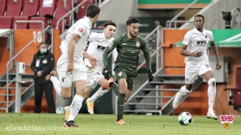 Augsburg vs Stuttgart: Stuttgart Hancurkan 10 Pemain Augsburg