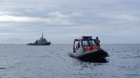 Basarnas Deploys 53 Vessels to Find Debris, Body Parts from Crashed Sriwijaya Air Plane