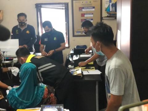 RS Bhayangkara Palembang Ambil Sampel DNA Ibu Korban Sriwijaya Air
