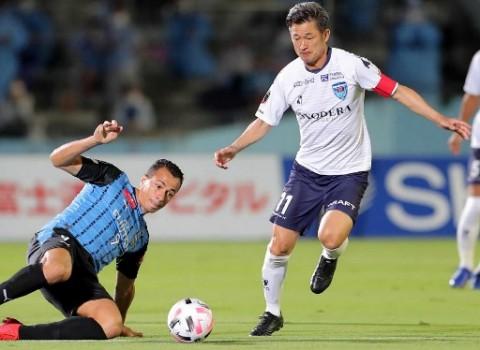 Striker Legendaris Jepang Masih Merumput Hingga Usia 54 Tahun