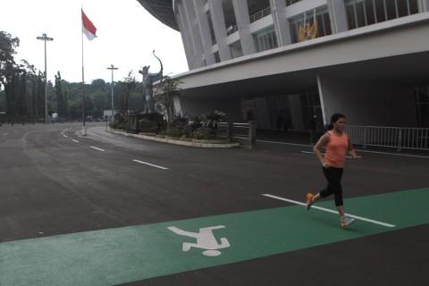 PSBB Jakarta, Seluruh Fasilitas Olahraga di GBK Ditutup