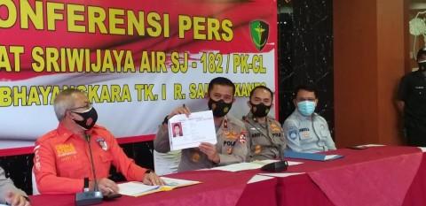 Okky Bisma, Korban Sriwijaya Air SJ-182 Teridentifikasi