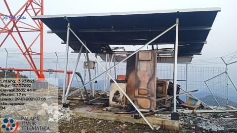 Pembakaran Palapa Ring Timur di Papua, Kominfo: Konektivitas Terjaga