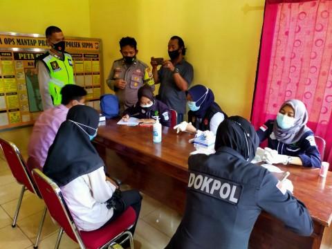 Keluarga Korban Sriwijaya Air di Sulsel Jalani Pengambilan Sampel DNA