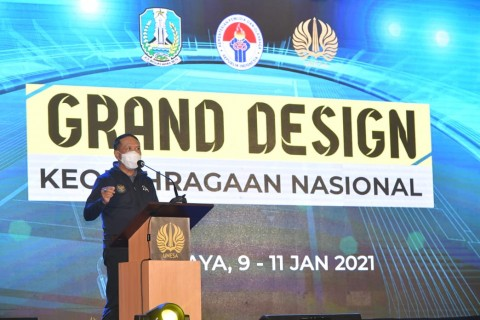 Indonesia Bakal Punya Grand Design Keolahragaan Nasional
