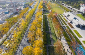 Tiongkok Ubah Landasan Pacu Bandara Jadi Taman Cantik