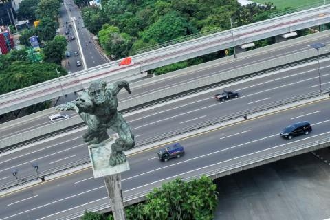 Cuaca Jakarta Diramalkan Berawan