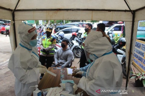4.039 Nakes Sukabumi Divaksinasi Covid-19 Gelombang Pertama