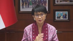 Indonesian Foreign Minister Elected Co-Chair of COVAX AMC Engagement Group