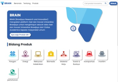 Mengenal Brain, Platform Data Inovasi Sivitas UB