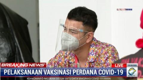 Ini Alasan Raffi Ahmad Dapat Suntikan Vaksin Perdana Bareng  Jokowi