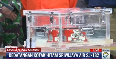 FDR Bakal Ungkap Dugaan Sriwijaya Air SJ-182 Berbelok Tak Sesuai Arah
