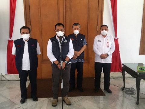 Vaksinasi Covid-19 di Jatim Dipusatkan di Gedung Grahadi Surabaya