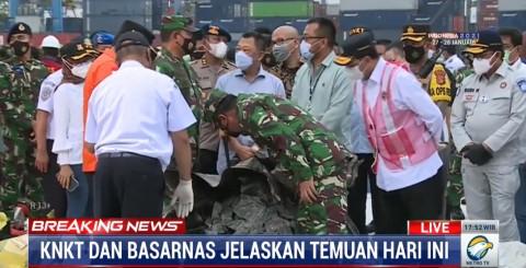 Pencarian CVR Sriwijaya Air SJ-182 Diyakini Bakal Menguras Waktu