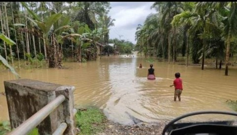 5 Kecamatan di Aceh Tamiang Terendam Banjir