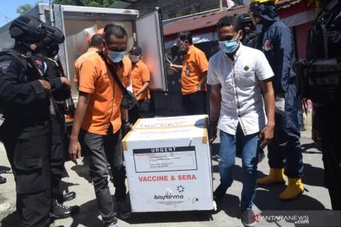 7.280 Vaksin Covid-19 Menyebar di Kota Ambon Hari Ini
