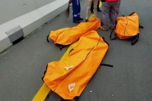 3 Foto Terpopuler: Kecelakaan di Tol Pekanbaru-Dumai Hingga Tiongkok Luncurkan Prototipe KA Maglev Berkecepatan Tinggi