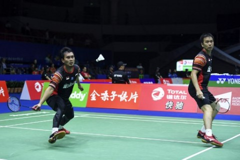 Thailand Open: Tekuk Wakil India, Ahsan/Hendra Melaju ke Perempat Final