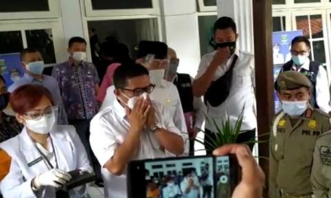Vaksinisasi Covid-19 Kepala Daerah di Banten Dilakukan Tertutup