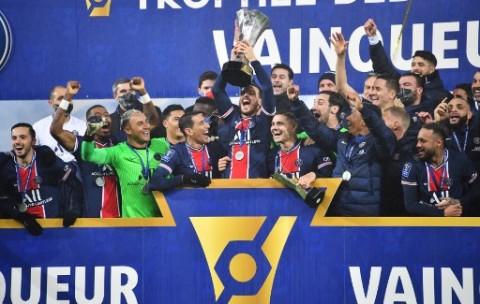PSG Perpanjang Rekor Kemenangan di Piala Super Prancis