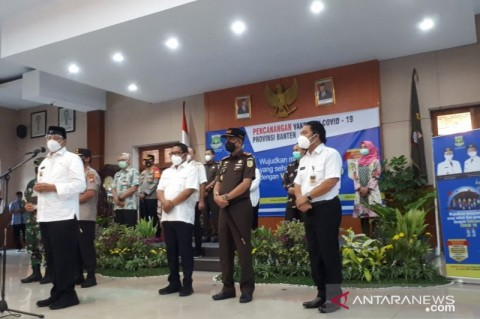 Gubernur Wahidin Tak Ikut Divaksin Covid-19